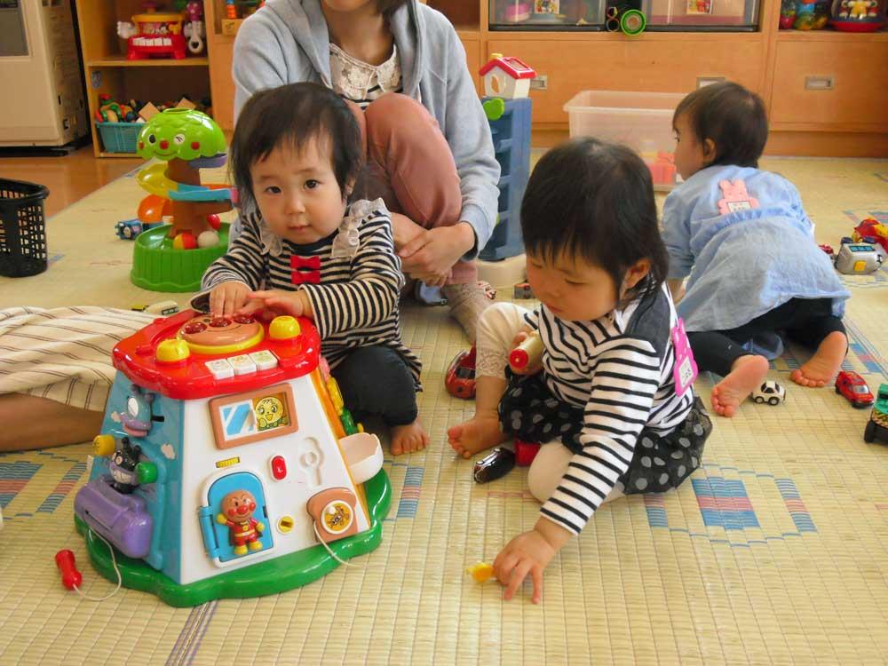 1歳児開放日